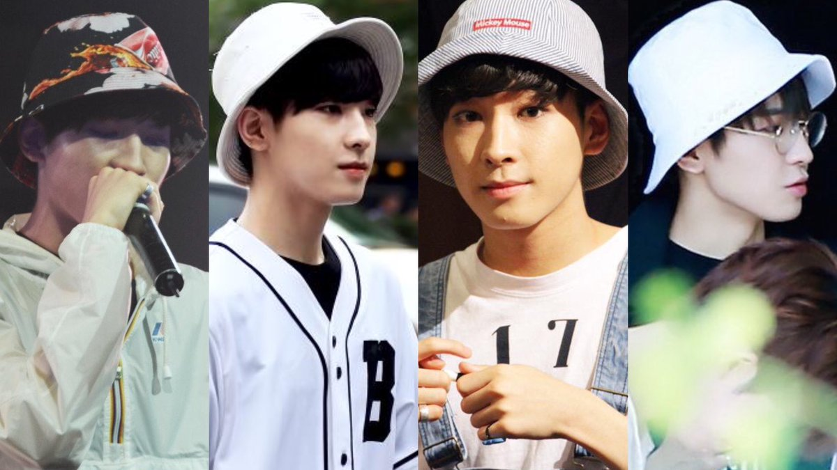 wonwoo and his humongous bucket hat collection pic.twitter.com/Jdp41BUOh0  by nany🌻🍭