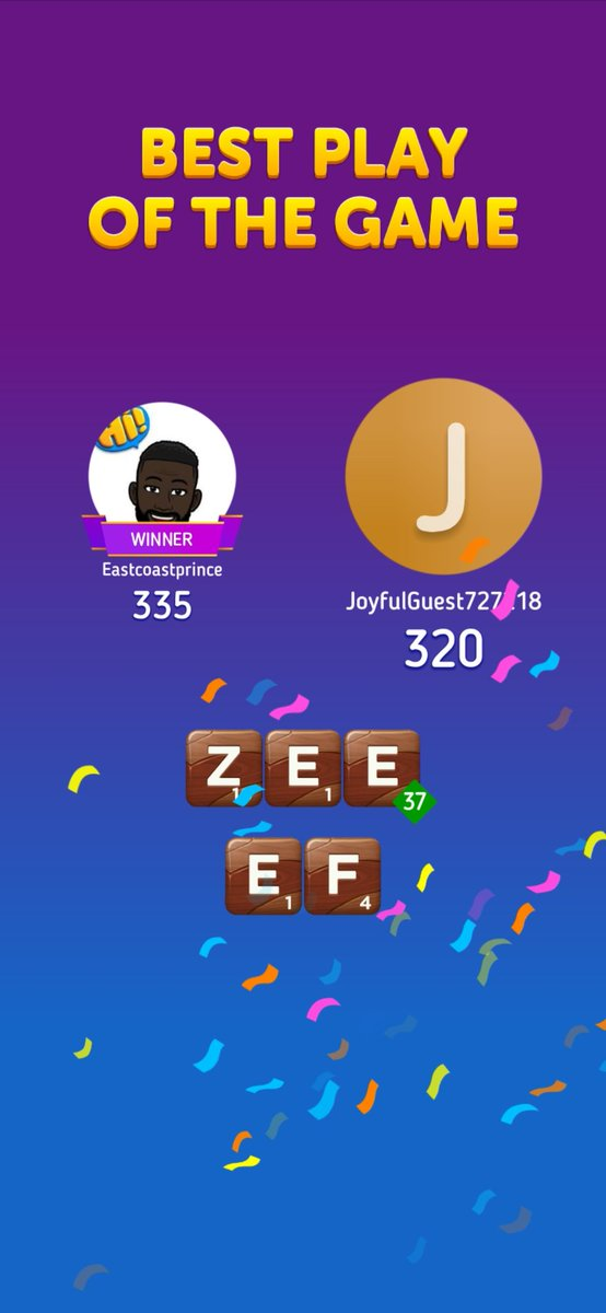 Hardest guy I have played I have played In this Scrabble Go game.pic.twitter.com/K7mmKflbHw