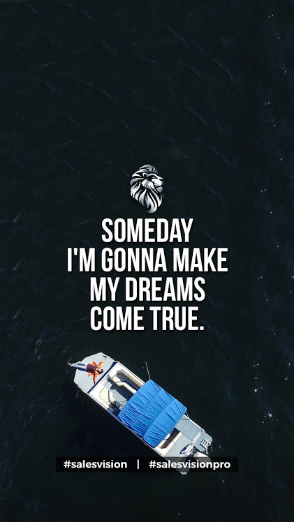 Someday I'm Gonna Make My Dreams Come True  #success #entrepreneur #homebusiness #workathome FREE Access>> http://www.residualgenius.com/SalesVisionpic.twitter.com/YONMccmOj2