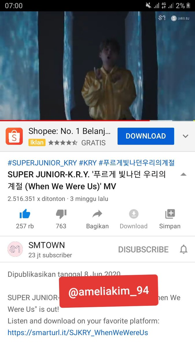 @gyuwinplaine @SJofficial My favorite song is when we were us  Thanks for GA  @SJofficial  #SUPERJUNIOR #슈퍼주니어KRY #SuperJuniorKRY  #푸르게빛나던우리의계절  #WhenWeWereUs https://t.co/6LW8y8ajIn