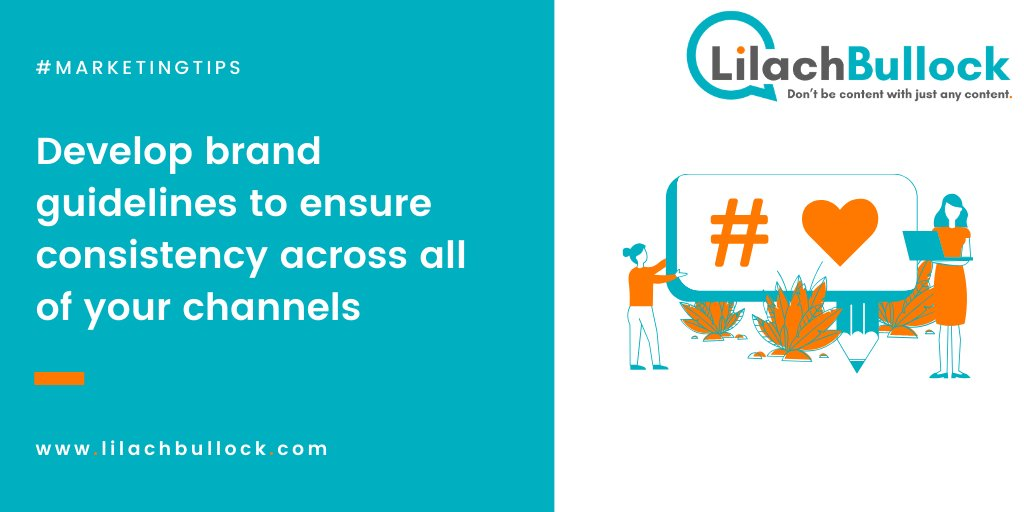 Make sure you're consistent across all the platforms you use:#BloggingTips #MarketingTips https://lilach.online/pic.twitter.com/mnJxT6wd1p