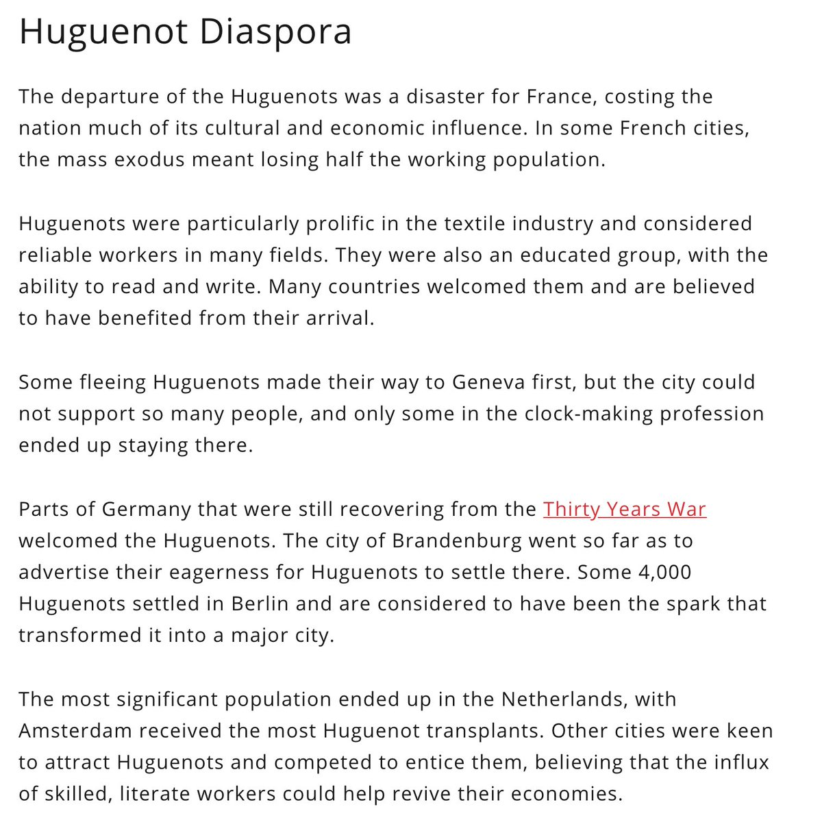 #HongKongers are today's Huguenots (wealthy & educated protestants who left France in the 17th century because of persecutions).  Countries who will welcome them will thrive thanks to an inflow of capital, culture and know-how, as the Dutch Republic and England thrived back then. pic.twitter.com/5TRXpersrC