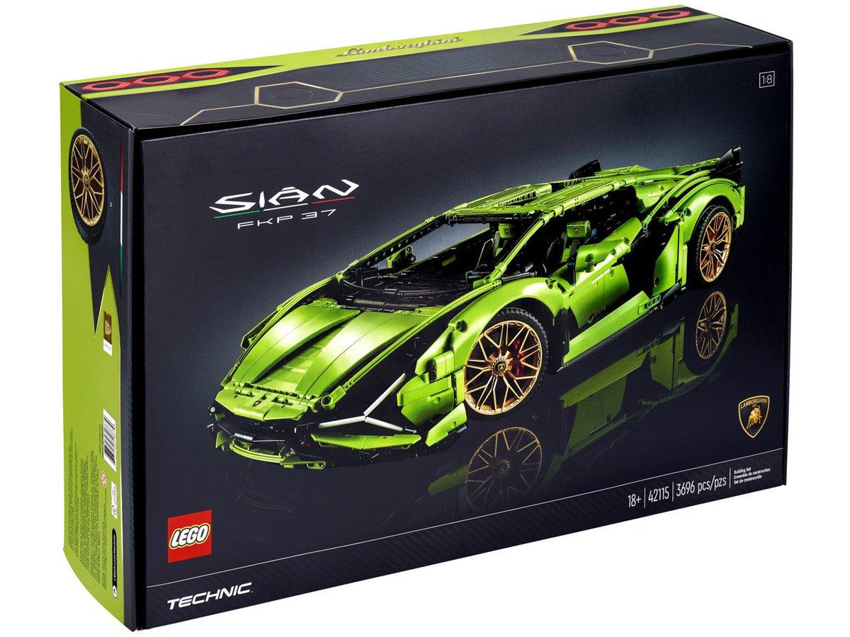 El Lamborghini de #LEGOTechnic es una obra maestra 👌🏻🤤 https://t.co/ukbC8j0Ma6