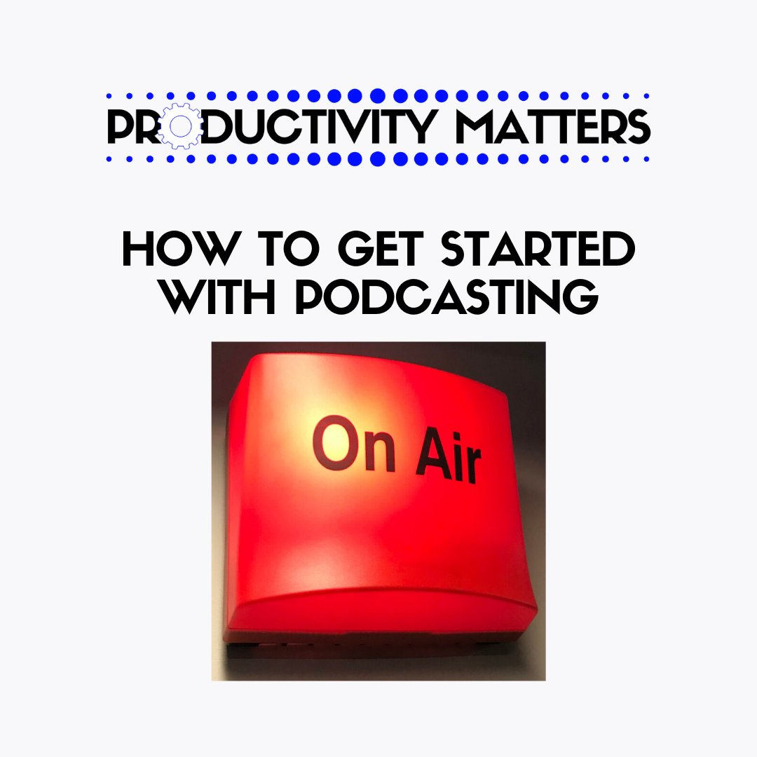 How to get started in podcasting ... hear how I prepare, produce, present and promote my podcast https://t.co/JUUzeYJlYO #podcasting #podcaster #podcast #podcastlife #PodernFamily #learning https://t.co/ZJ1yppZObM