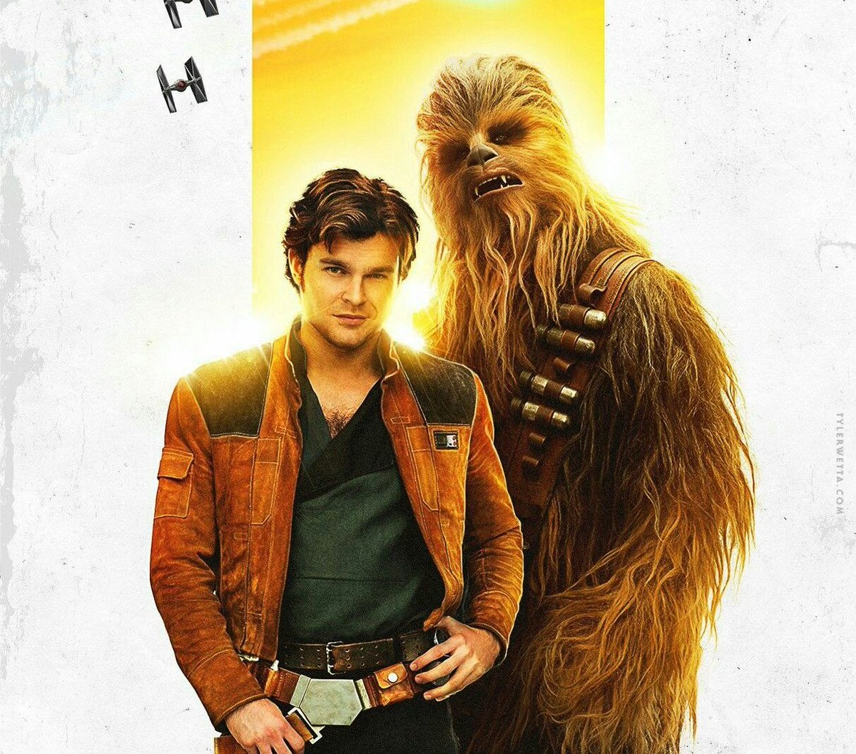 I could watch Han and Chewie pay their taxes for 7 episodes and I'd still find it entertaining. Although, I don't think either of them would pay tax 😂 #MakeSolo2Happen https://t.co/tvclE047eL