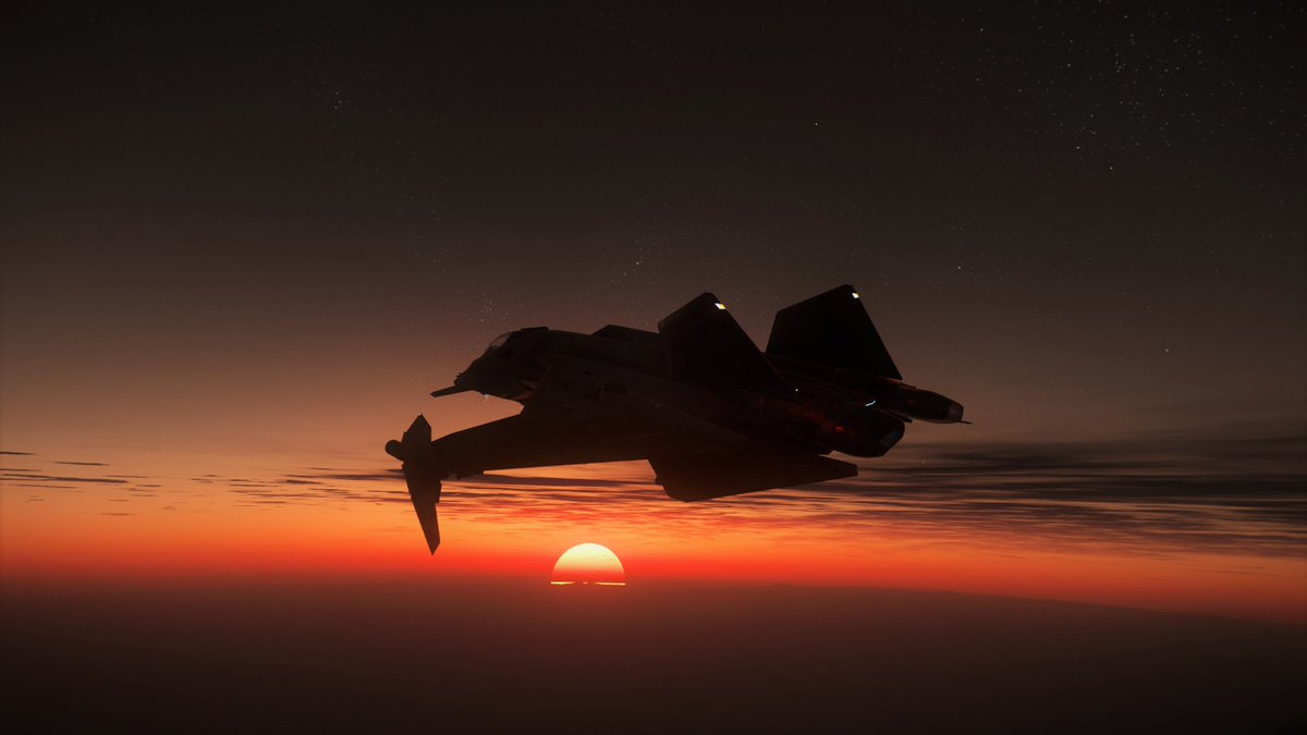 "Aegis Gladius: ""Seize the Day"" #StarCitizen #virtualphotography @RobertsSpaceInd #screenshot #starcitizensceenshot #gamingphotography  #spaceship #pcgamingpic.twitter.com/7e5bRts8F8"