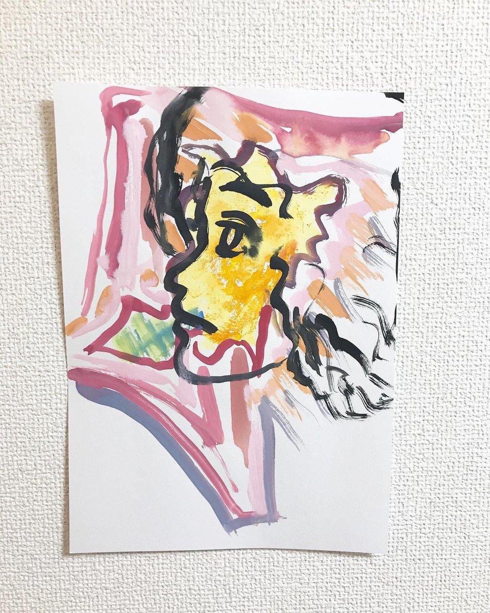 作品完成。 PLAYTHEHOPE 作品No.7300   #art  #japan #drawing #originalart   #Watercolor   完成作品10000枚達成まで、   あと2700枚。   PLAYTHEHOPEへのメッセージは↓ playthehopekanaki@gmail.com