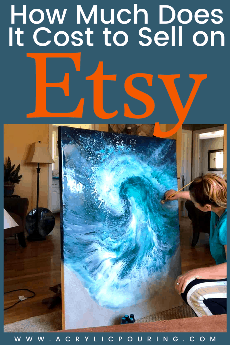Your acrylic pouring artworks are valuable according to their uniqueness. Find out how much your artworks cost to sell on Etsy. #acrylicpouring #uniqueart #acrylicartwork #etsy #online #artonline #businesstips #marketingtips #fluidart #fluidpainting   Check out our blog, dedicatepic.twitter.com/6HUVFfPRca