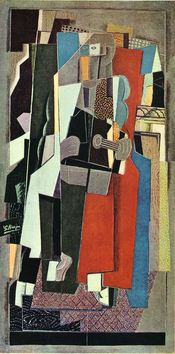The Musician, 1918 #braque #syntheticcubism <br>http://pic.twitter.com/HYG9PrYmUh