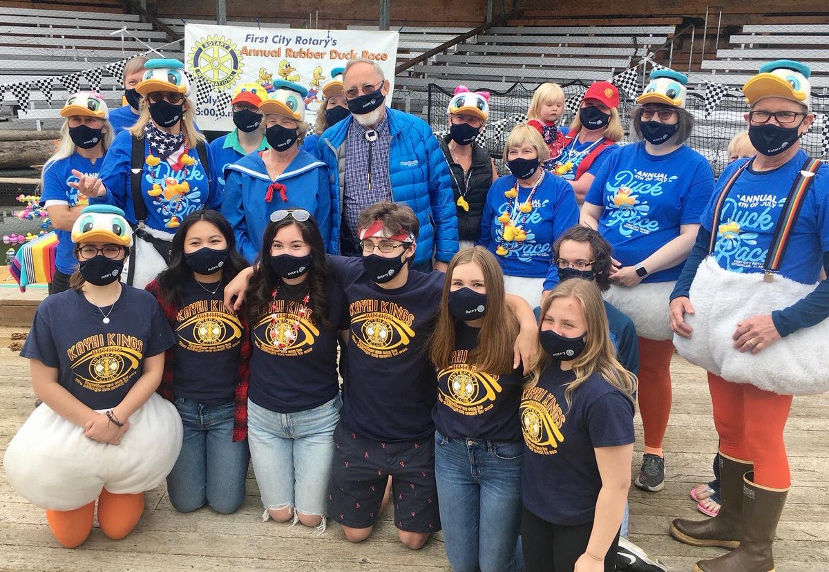 The First City Rotary Club has been a central part of Ketchikan for over 30 years. I've always appreciated the ways they engage Alaskans of all ages, and encourage them to get involved in civic life. https://t.co/mG0r7bGEgv