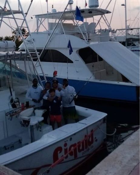 Cap Cana, DR - Liquid went 2-3 on Blue Marlin and 2-3 on White Marlin.