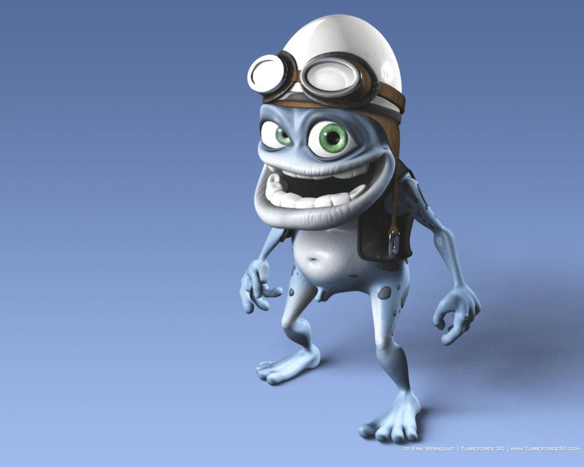 Crazy Frog supports BringBackNationalDex. <br>http://pic.twitter.com/0jt2TM1W43