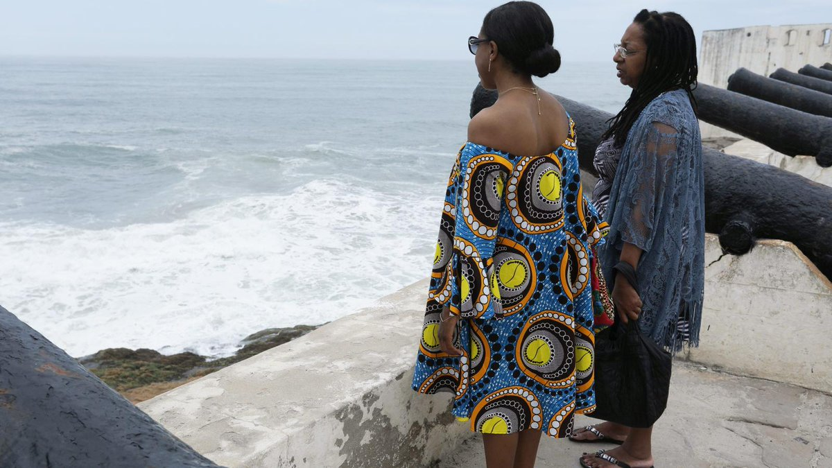 """Here's how a """"roots tourism"""" visit to Ghana was an awakening for social justice in the United States.  #Ghana #Tourism #Racism #SocialJustice #RootTourism #PositiveChange   https:// qz.com/africa/1874588 /a-ghana-roots-tourism-visit-was-a-call-for-social-justice-in-us/  … <br>http://pic.twitter.com/gklt6TFT1F"""