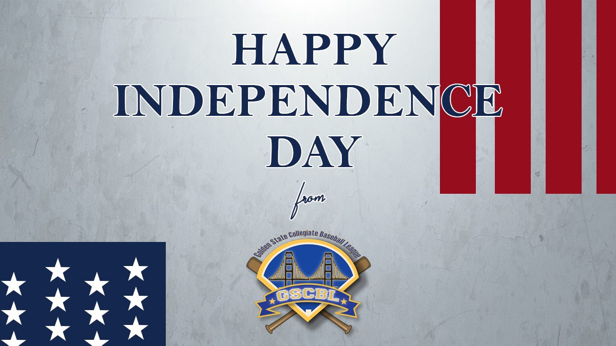 Enjoy your 4th of July, #GSCBL fans! #independenceday #collegebaseball https://t.co/RbeP6Fbaap
