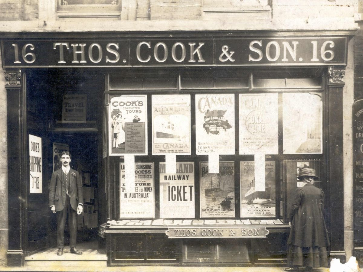 On this day: 5 July   1841 Thomas Cook opens first travel agency . . . #ThomasCook #Travel #Agency #First #history #onthisday https://t.co/lzLsU5Xd4H