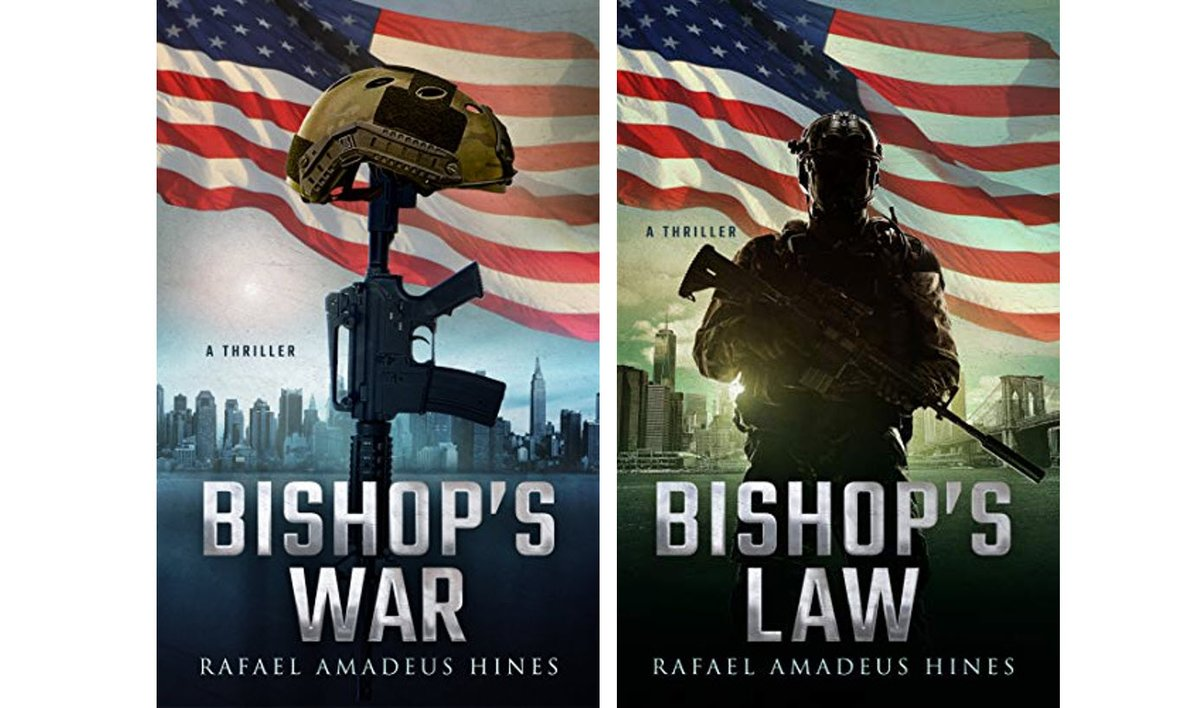 From Rafael Amadeus Hines @RafaelWrites BISHOPS WAR Fast-paced, action-packed suspense thriller amazon.com/Bishops-War-Bi…