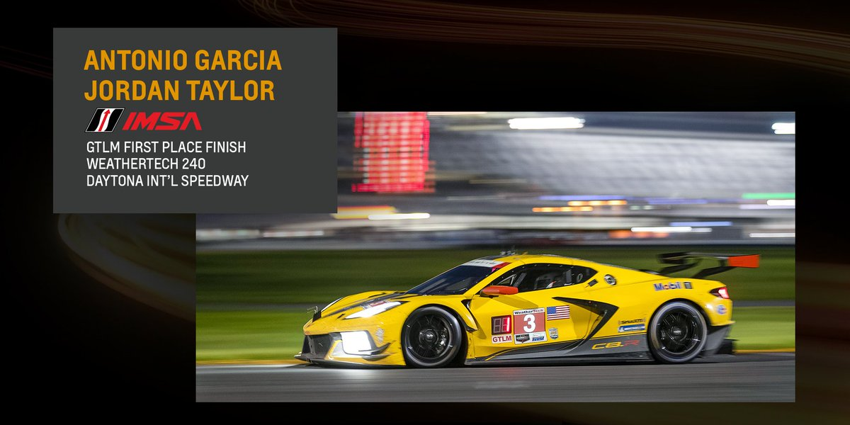 What an amazing way to close out race day on The #FourthofJuly. @AntonioGarcia_3 & @jordan10taylor bring home the first win for the @CorvetteRacing #C8R and the 100th win in @IMSA racing. Class pole-winner @olivergavin & @TommyMilner finish 5th at @DISupdates. https://t.co/WBagf1q0k3