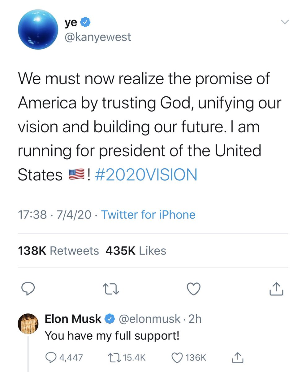 We finally have incontrovertible proof that we're living in a simulation. #YeMusk2020 https://t.co/p6GUaU9hCG https://t.co/H61UGfcYCD