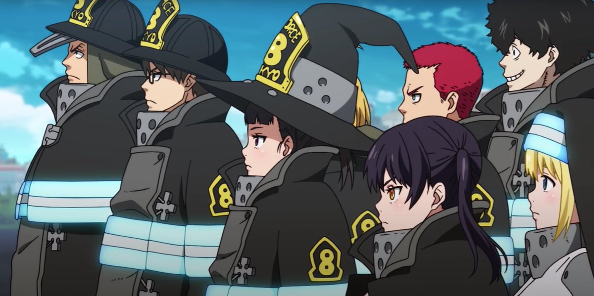 A Season 2 SimulDub premiere AND a Q&A!? The Fire Force panel at FunimationCon 2020 was   Read on: https://funi.to/2VMhxiNpic.twitter.com/N3L6Ve0xYG  by Crunchyroll Store