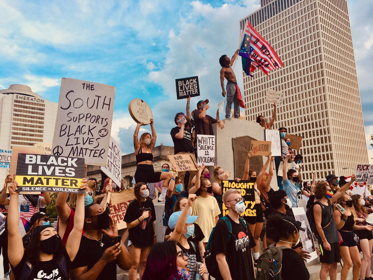 """""""A new world order is in the making, and it is up to us to prepare ourselves that we may take our rightful place in it."""" (Malcolm X)   #BlackLivesMatter #NashvilleProtest #July4thpic.twitter.com/vG0Vx0ZkOb"""
