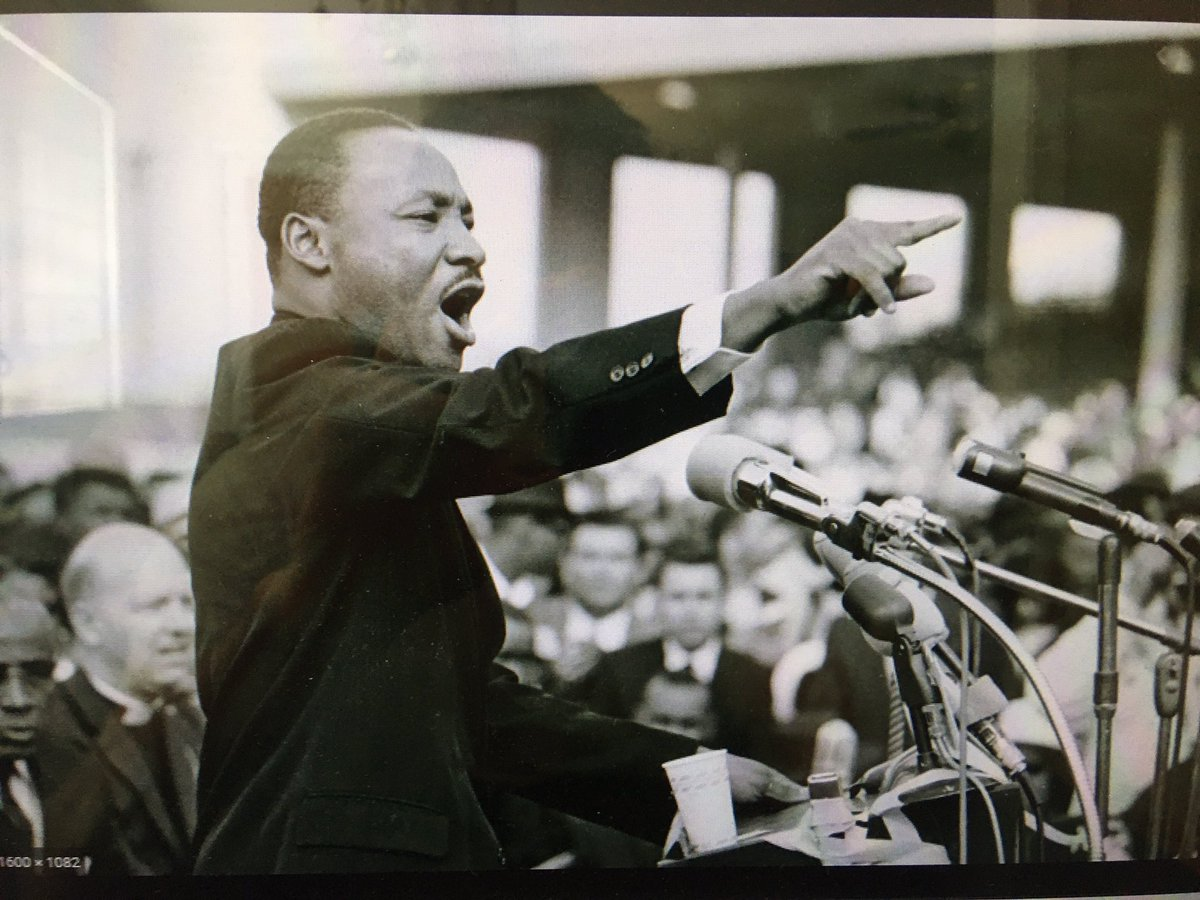 """MLK spoke to """"just and unjust laws.""""  H-1b, a visa labor racketeering scheme in which Trump replaces highly skilled Black Americans with cheaper Indians having no FIDELITY to America is profoundly immoral. H-1b, L-1b, OPT, H4EAD, EB, all of which further marginalize MUST END NOW. <br>http://pic.twitter.com/D6X8nRDDpE"""