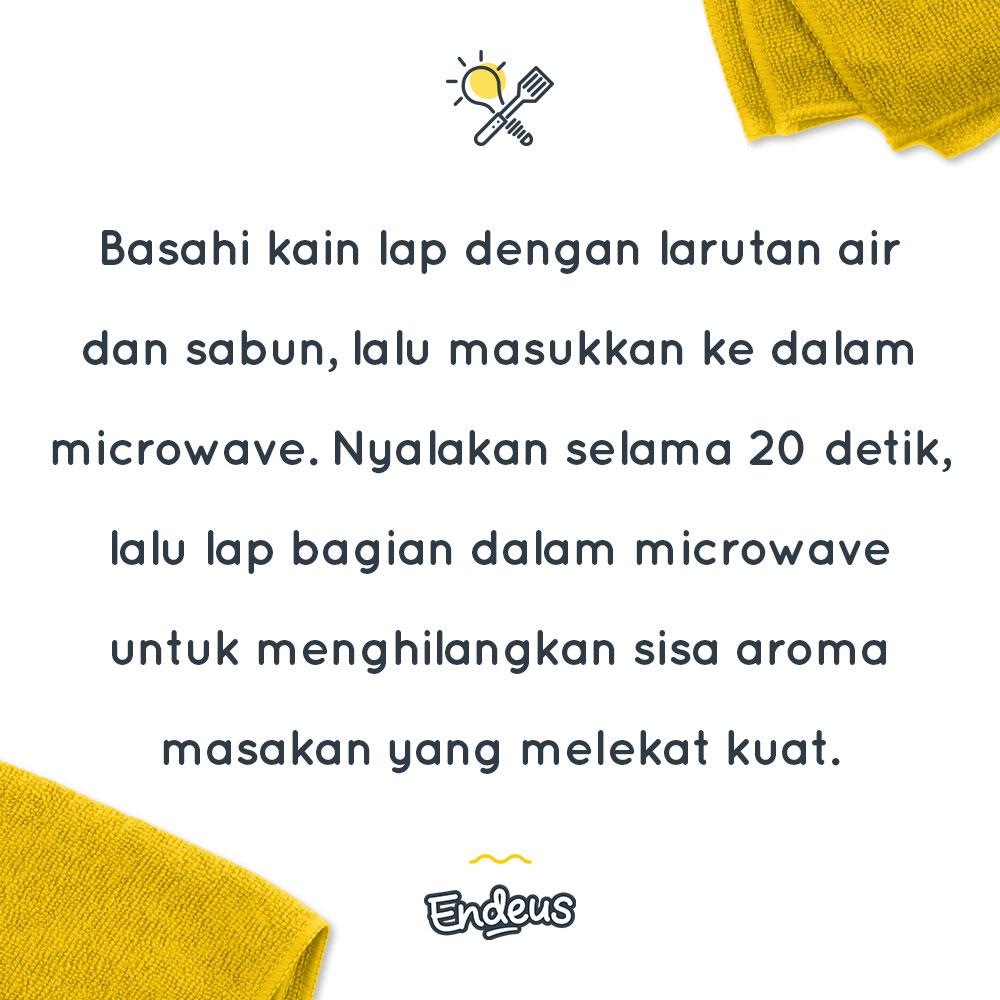 Yuk jaga kebersihan dapur mulai dari microwave mu !  #Endeus #LoveHomeFood #InspirasiMasakTiapHari #dirumahaja #AdaEndeus https://t.co/NIQ07hgVaE