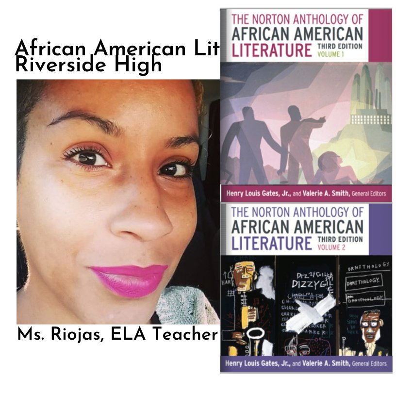 Visit https://t.co/AGAjpolWyr Donate to @RiversideDpsnc High School African American Lit Course books. @riverprincipal #blackauthors #readingblack #donate #dogood #charity #blackoncampus #socialgood #change #fundraising #philanthropy #charity #civilrightstwitter https://t.co/V48wxJYtw0
