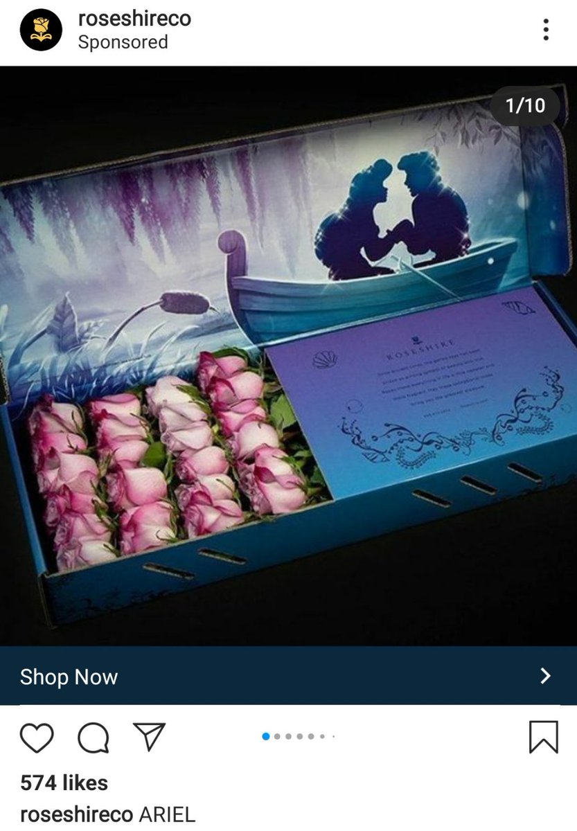 Omg!!!! I'm in love with this, I want this....  #ariel #thelittlemermaid #rosespic.twitter.com/7NeP2bicIH