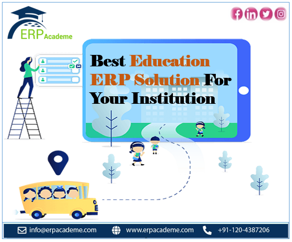 Best Education ERP Solution For Your Institution. Forget all the paperwork and make your educational institution a better workplace with #ERPAcademe. To know more visit at https://bit.ly/3f1xUj9  #ERPAcademe #ERPsoftware #Educationerp #erpsolutionpic.twitter.com/2uWSnIsTWw