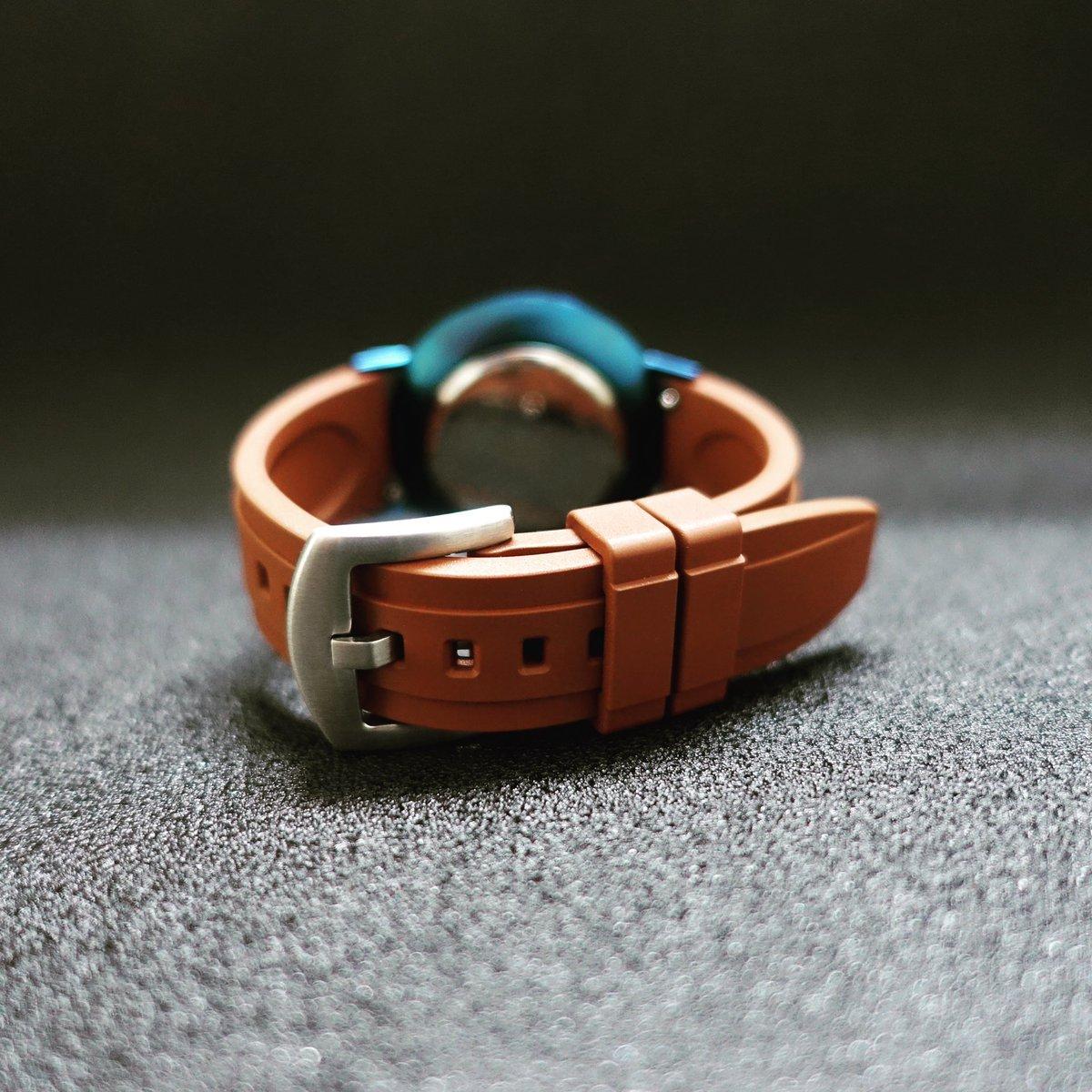 FKM rubber watch band. #watchband 18-24mm #natostrap https://t.co/FZSXUjaVSz