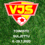 Image for the Tweet beginning: ☀️VJS:n toimisto on suljettu 6.-29.7.2020