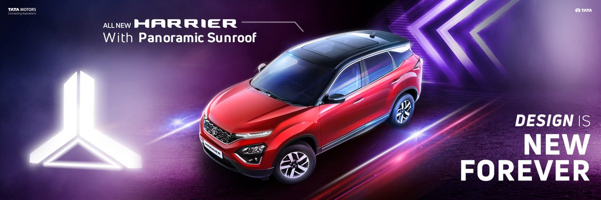 To know more about the All New Harrier, follow @TataMotors_Cars
