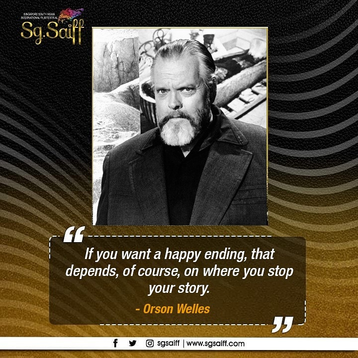 You pick and choose the chapter where the story ends.  #SgSAIFF #SAFM #FilmFestivals #Film #ShortFilm #Filmmaking #Cinema #Movie #Indiefilm #Filmmaker #SouthAsianFilms #SouthAsianFilmFestival #FilmFestival #Director #Producerpic.twitter.com/FrstHpPMci