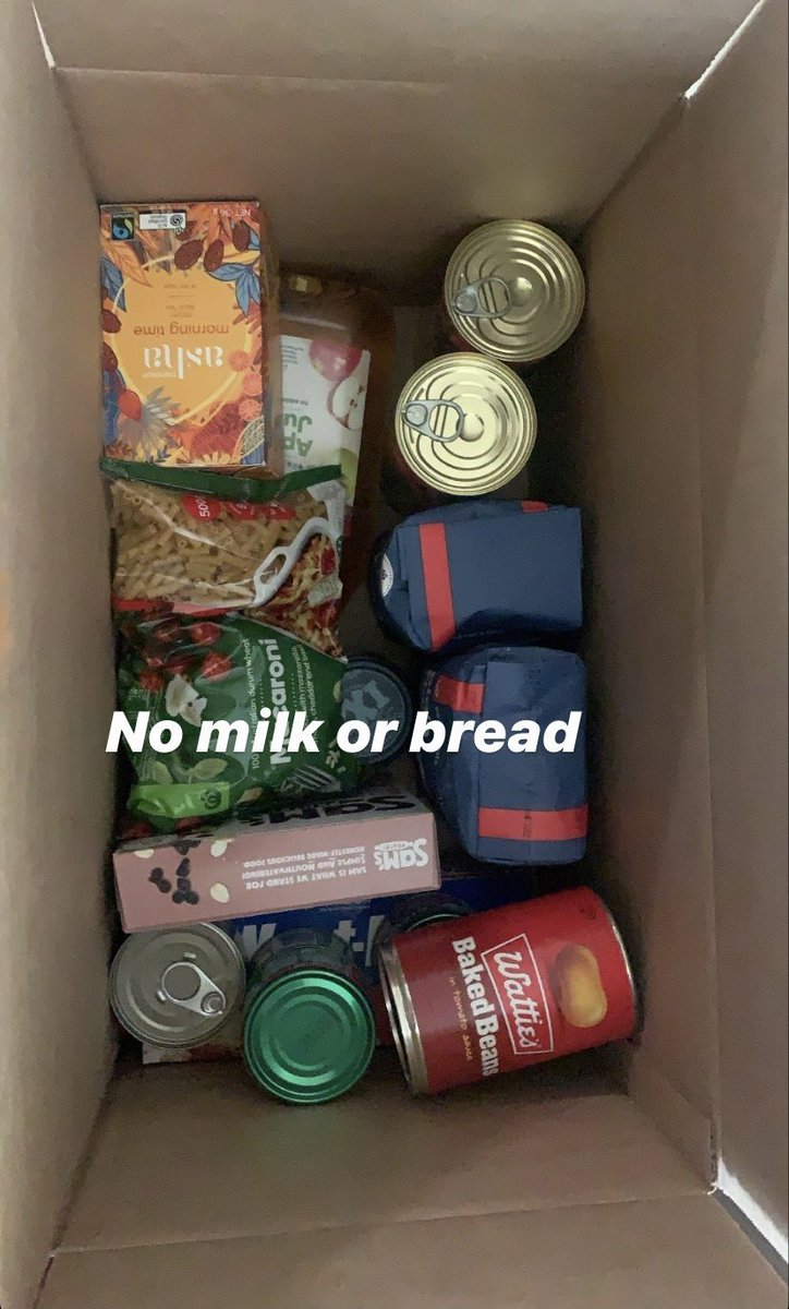 """People in the Melbourne public housing estates say these are the type of food boxes they've been provided with - """"mismatched"""" food like """"Weet-Bix with no milk"""" https://t.co/stG13tnDlt"""