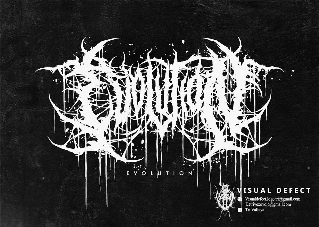 Logo for EVOLUTION ( US Clothing Brand )  #deathmetal #deathcore #slammingdeathmetal #brutaldeathmetal #logo #metallogo #brutallogopic.twitter.com/2JFfwRzNIq