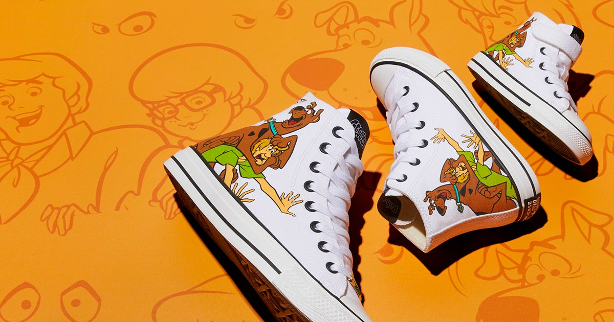 Fit the whole gang in the Converse x Scooby Doo collection https://t.co/Vmk3C6qlz7