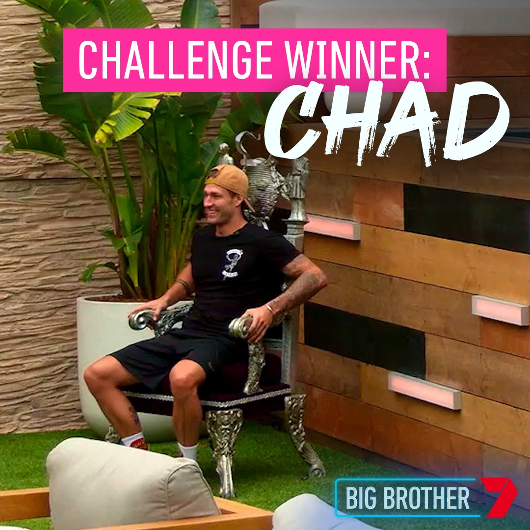 A huge win for Chad! He now has the chance to take down the Alphas and these nominations will be everything. #BBAU https://t.co/GJ8fl0Sg1J