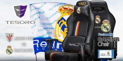 La Liga Matchday 34 Athletic Club VS Real Madrid 14:00 Sun 05 Jul  Enjoy the match on holiday, And enjoy your game time on Real Madrid gaming chair! https://tesoro.bz/RealMadrid_Online…  #Laliga #HalaMadrid #RealMadrid #tesoro pic.twitter.com/xXOZxRH1kB