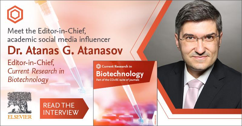 In the year since its launch, Current Research in Biotechnology has published articles on everything from nutraceuticals to glycoengineering. Find out why Editor-in-Chief @_atanas_ wants it to remain a broad-scope #biotech journal. #CRBIOTECH #openaccess https://t.co/IjLkztDxD1 https://t.co/lP1h0nvWgn