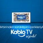 Image for the Tweet beginning: Birbirinden sürükleyici içerikleriyle KabloTV sizinle!  Hemen