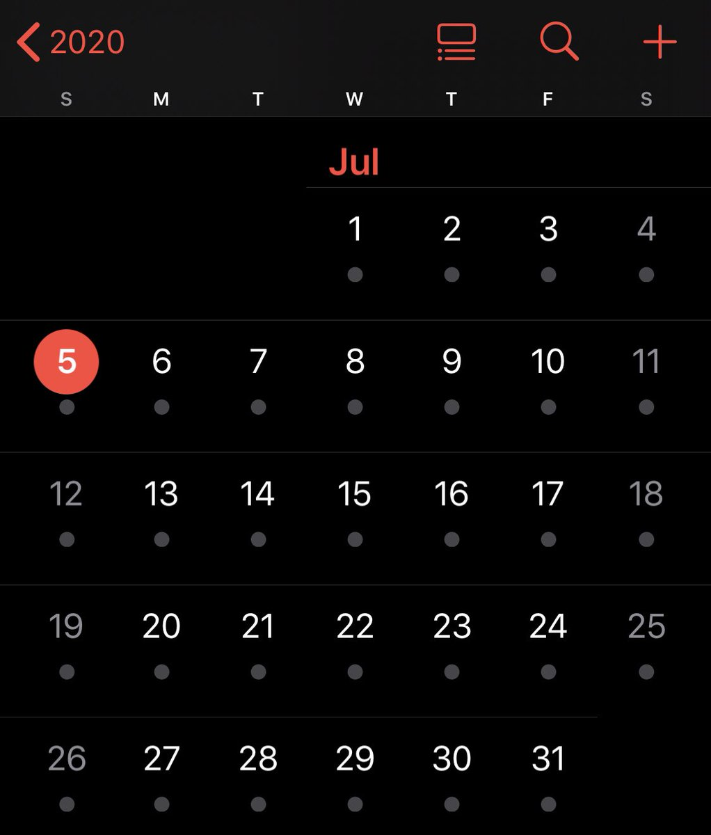 @jigendotnet 2nd choice! Have you looked at a calendar