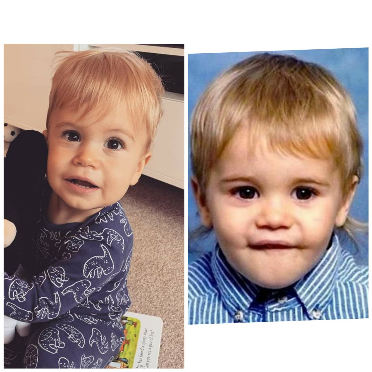 Saw a picture of @justinbieber as a baby and now I want to know if he was in Manchester around the time my lad was conceived 🤣🤣🤣 https://t.co/T5HHNJ3dJk