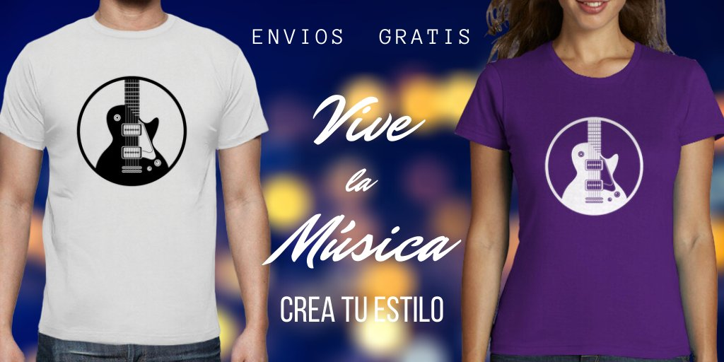 Personaliza tu camiseta y crea tu estilo único  https://t.co/I96P8oiY6c  #rock #indie #RockAndRoll #Blues #Jazz #musica #guitars #guitarplayer #musician #livemusic #estilo #Tshirts  #song #concert #producer #bands #band #live #concierto  #festival #artistas #musicos #guitarristas https://t.co/i5K2Il0miO