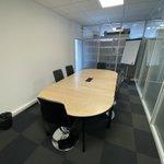 Image for the Tweet beginning: Notre salle de reunion chez