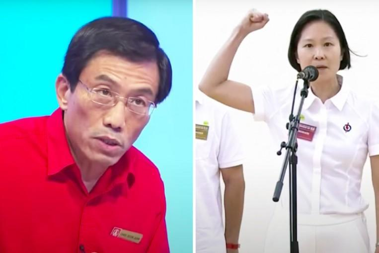 I not fierce: GE2020 candidates Chee Soon Juan and Gan Siow Huang say they aren't as unfriendly as they appear https://t.co/DNH8PI7SQ9 https://t.co/CnUaqQH7Mu