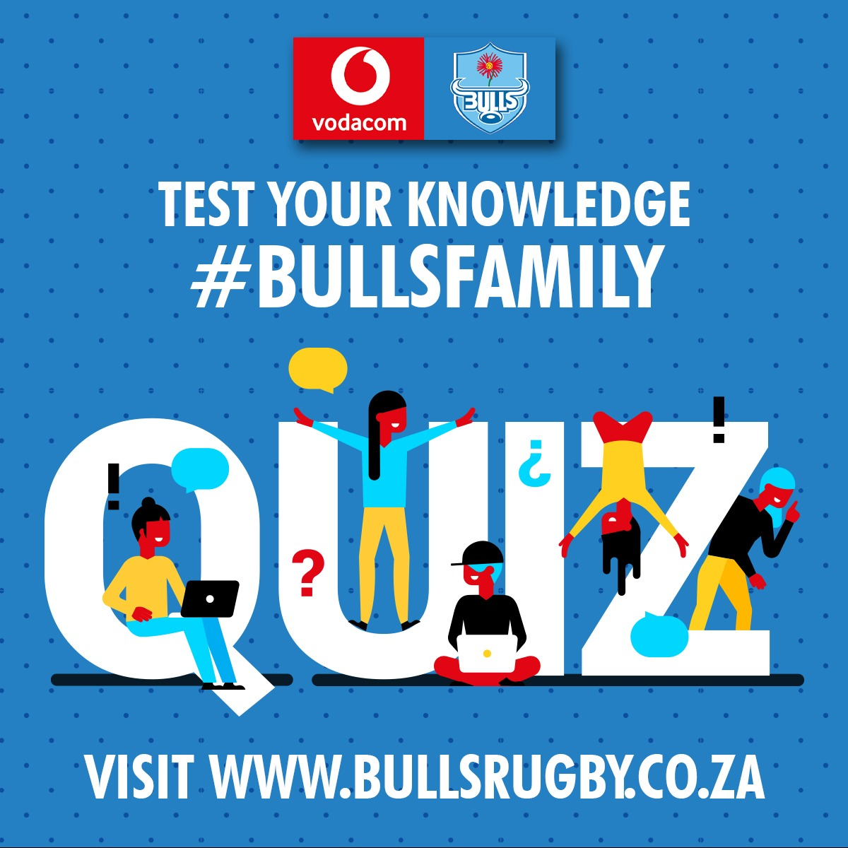#BullsFamily We have uploaded two new quizzes for your enjoyment. Let us know how you did in the comments below. #SundayFunday Link: bullsrugby.co.za/quiz/