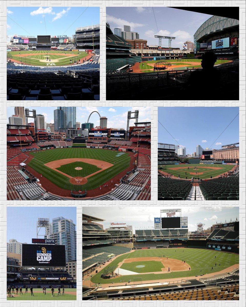 ¡Pretemporada #MLB! 🔥⚾️  A pesar de la baja de jugadores que han optado por no jugar la Temporada 2020, el béisbol regresó a los estadios. El #SummerCamp está en marcha 😍⚾ https://t.co/UKViNZQCBJ