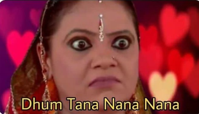 **Indian serial**  When a bahu breaks a glass   *Le Saas for next 2 mint: pic.twitter.com/ZTp8dv2x8G  by j ❀✿