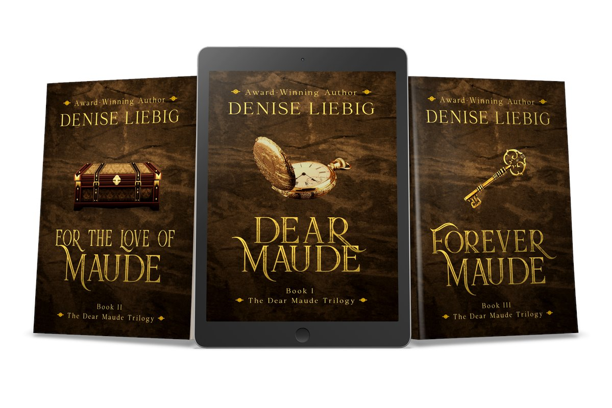 Hiding in history isn't the thrill Emily thought it would be—but neither is time travel. When her husband, Dell, was seriously injured in an accident meant to free her...   by @DeniseWithWords  get it now  https://t.co/qE3ZpTu8Vf #RT  #iartg  #asmsg  #bookboost https://t.co/XpKWMeBSZQ