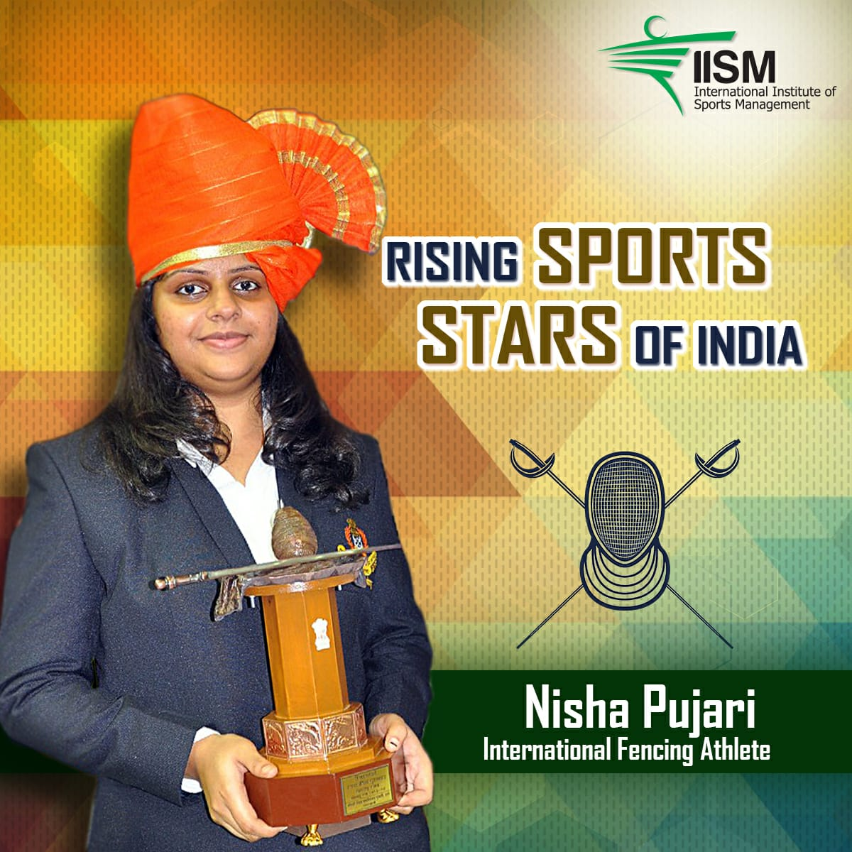 I was a very active sports player since school. This royal sport- Fencing was introduced to me in class 7. With enthusiasm, I decided to take up this sport professionally with guidance of my coach Dr. Bhushan Jadhav. pic.twitter.com/NGZ33xnEqN